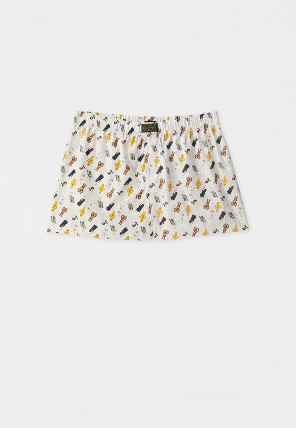 мужские трусы-шорты pull & bear, белые