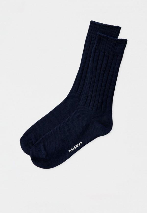 мужские носки pull & bear, синие