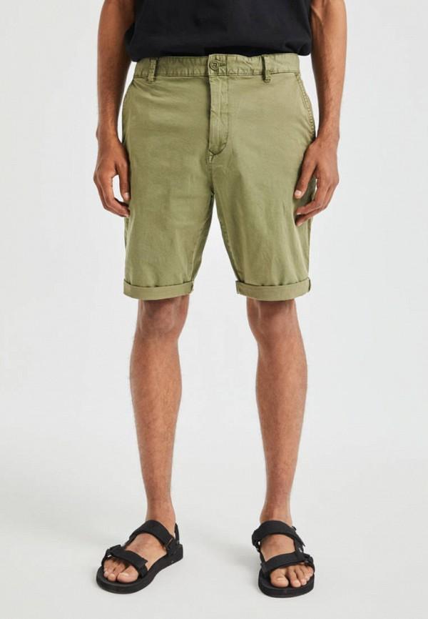 мужские повседневные шорты pull & bear, хаки