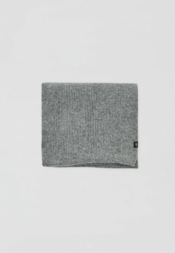 мужской шарф pull & bear, серый