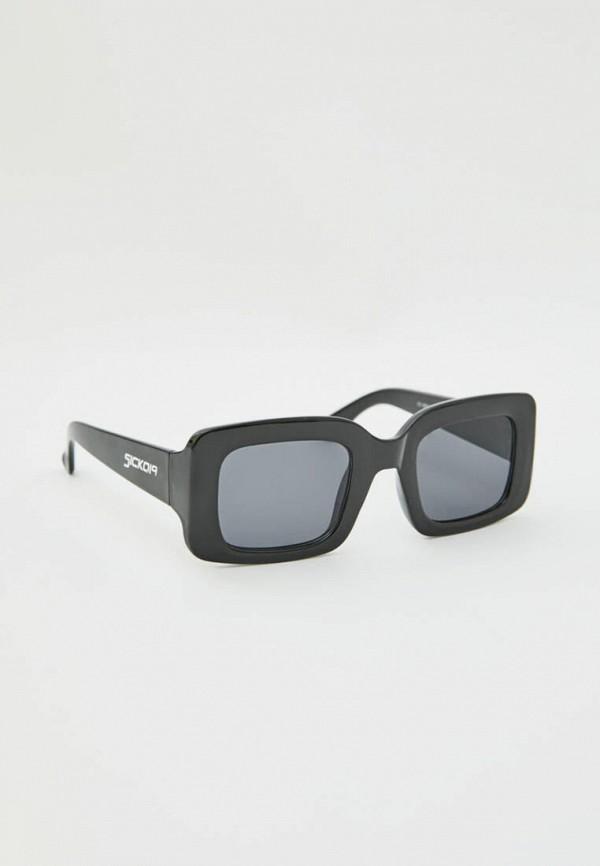 мужские квадратные солнцезащитные очки pull & bear, черные