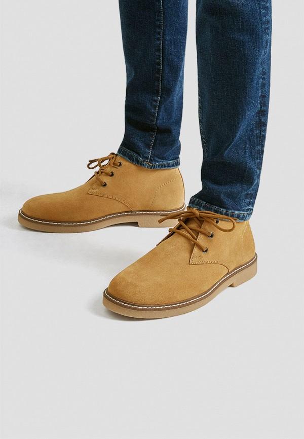 Ботинки Pull&Bear. Цвет: коричневый