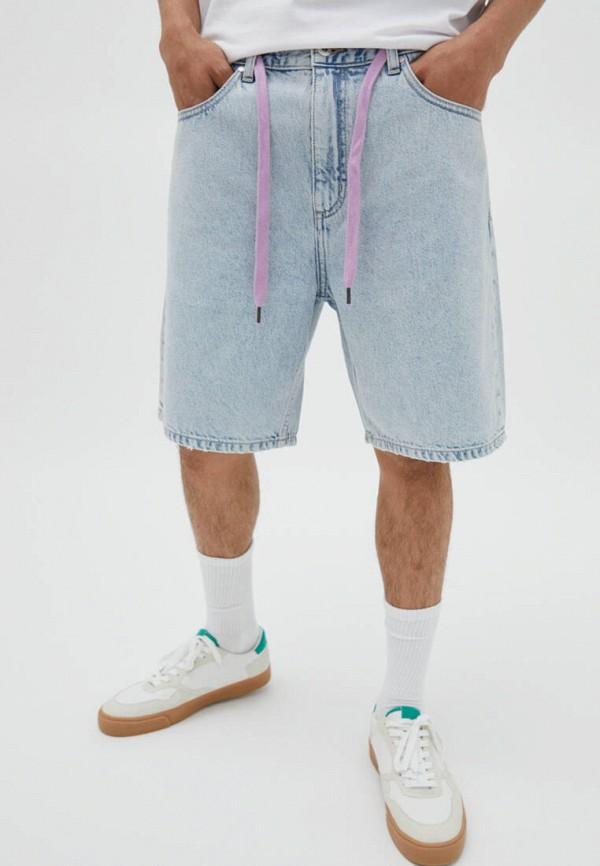 Шорты джинсовые Pull&bear IX001XM00DBBE420