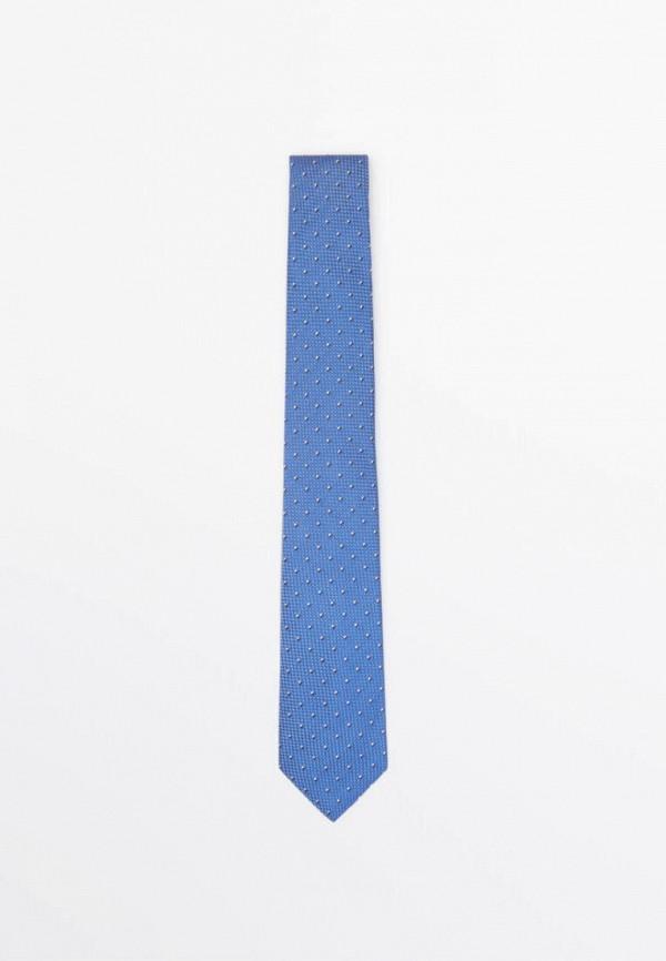 мужские галстуки и бабочки massimo dutti, голубые