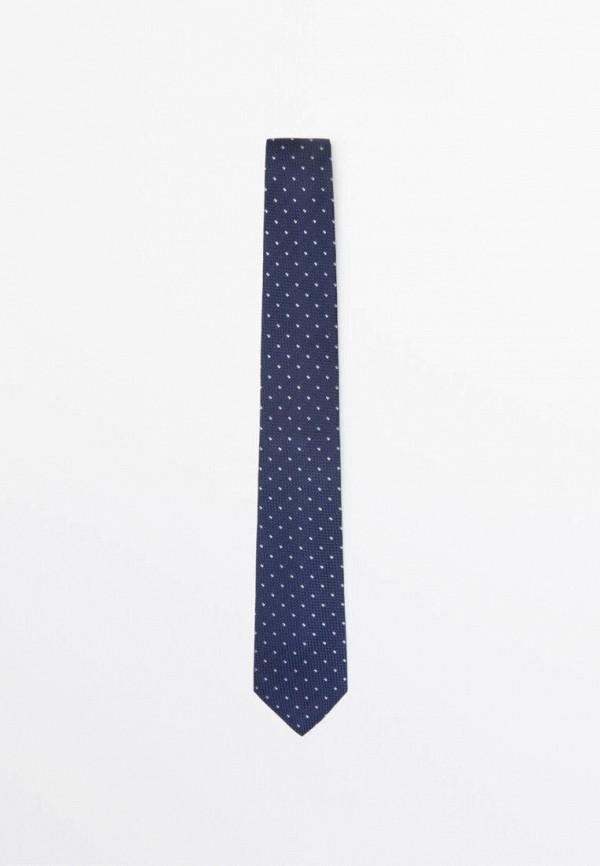 мужские галстуки и бабочки massimo dutti, синие