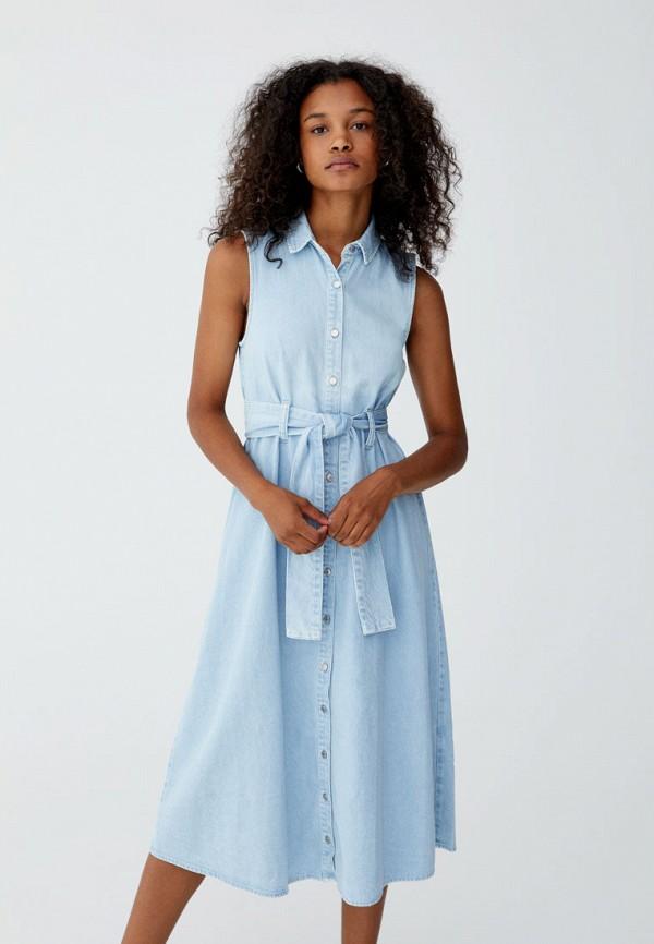 Фото - Платье джинсовое Pull&Bear Pull&Bear IX001XW00001 удочка зимняя swd ice bear 60 см