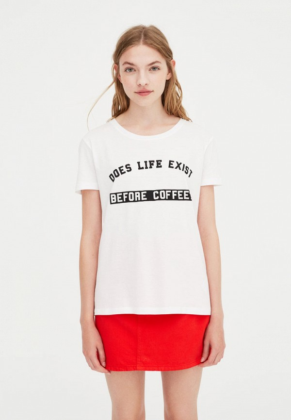 Футболка Pull&Bear Pull&Bear IX001XW00101 удочка зимняя swd ice bear 60 см