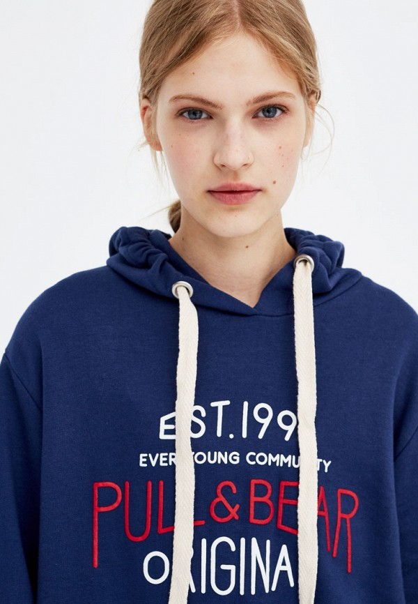 Худи Pull&Bear Pull&Bear IX001XW0011O худи print bar cs go asiimov cky