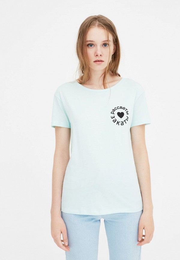 Футболка Pull&Bear Pull&Bear IX001XW001E2 удочка зимняя swd ice bear 60 см