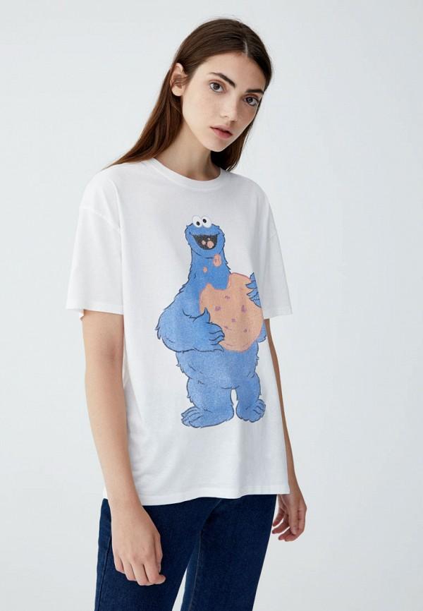Фото - Футболка Pull&Bear Pull&Bear IX001XW001IW удочка зимняя swd ice bear 60 см