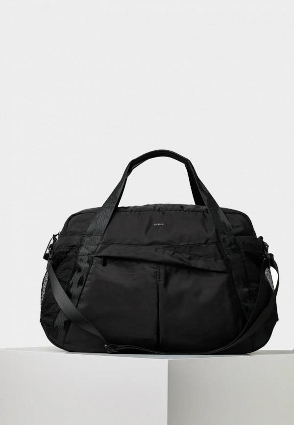 Спортивная сумка  черный цвета
