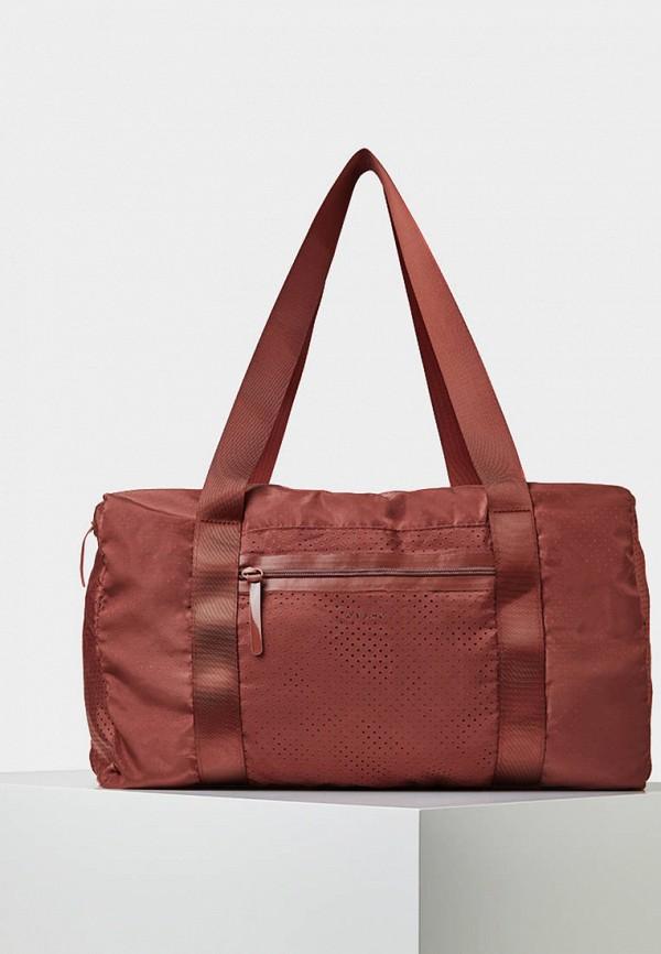 Спортивная сумка  бордовый цвета