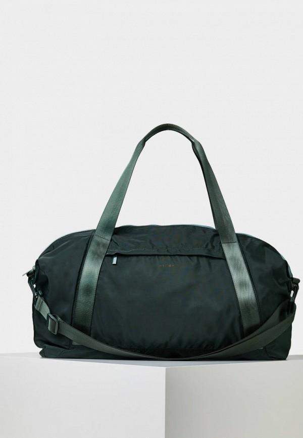 Спортивная сумка  зеленый цвета