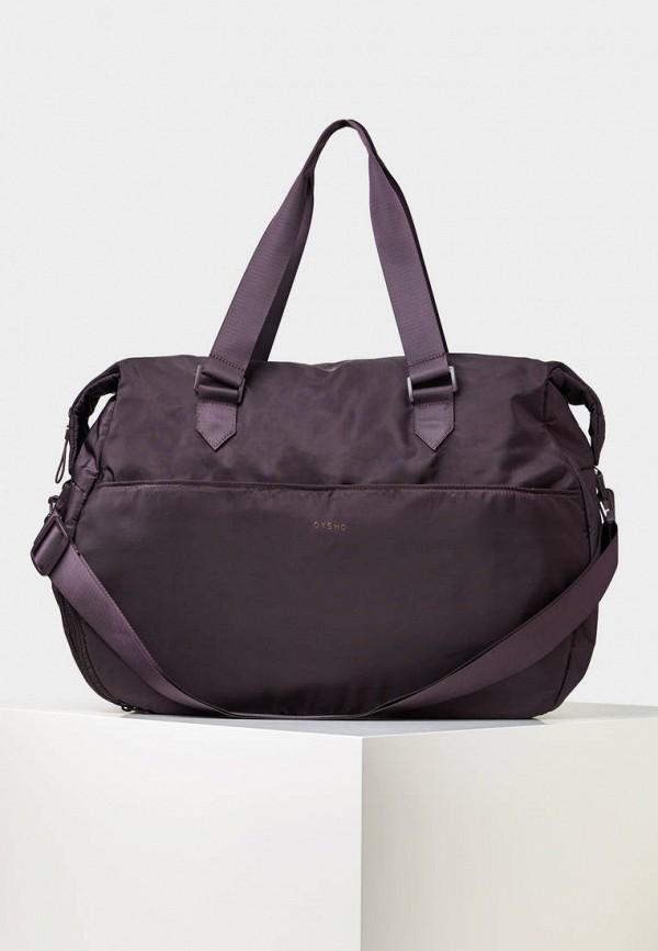 Спортивная сумка  фиолетовый цвета