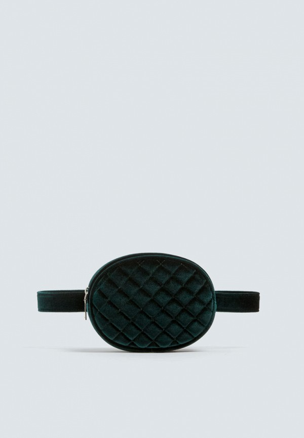 Поясная сумка  зеленый цвета