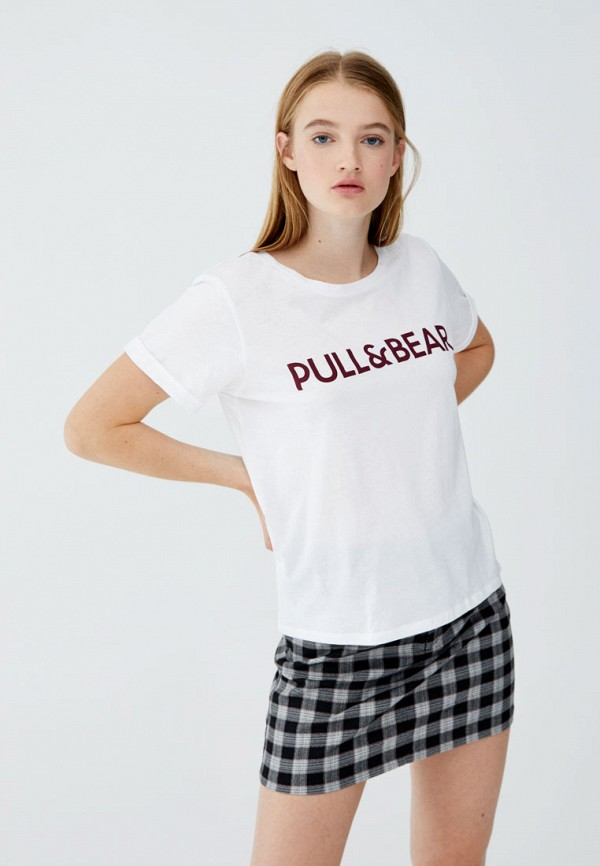 Футболка Pull&Bear Pull&Bear IX001XW0020M удочка зимняя swd ice bear 60 см