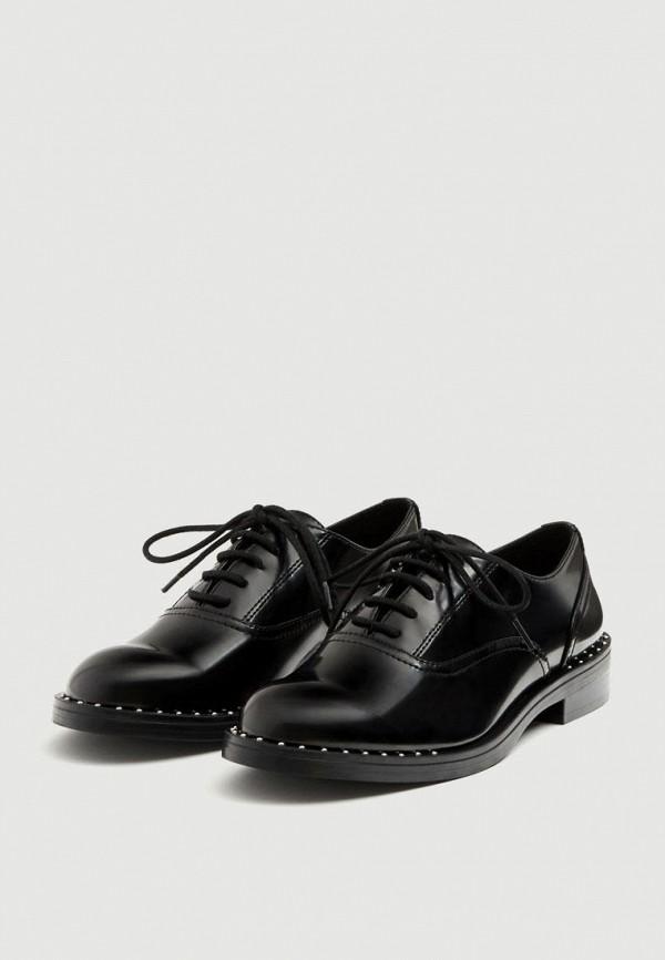 Купить Ботинки Pull&Bear, ix001xw0028a, черный, Осень-зима 2018/2019