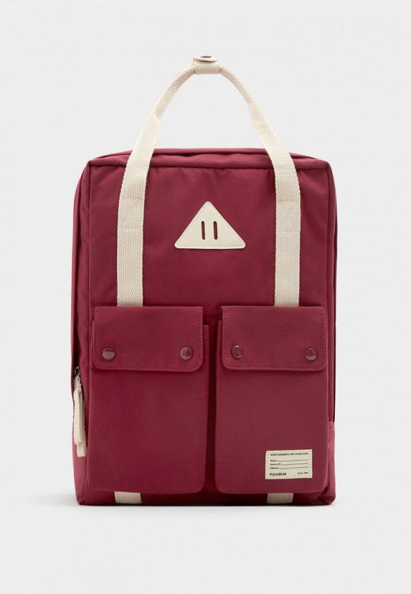 Рюкзак Pull&Bear Pull&Bear IX001XW002U3 рюкзак pull