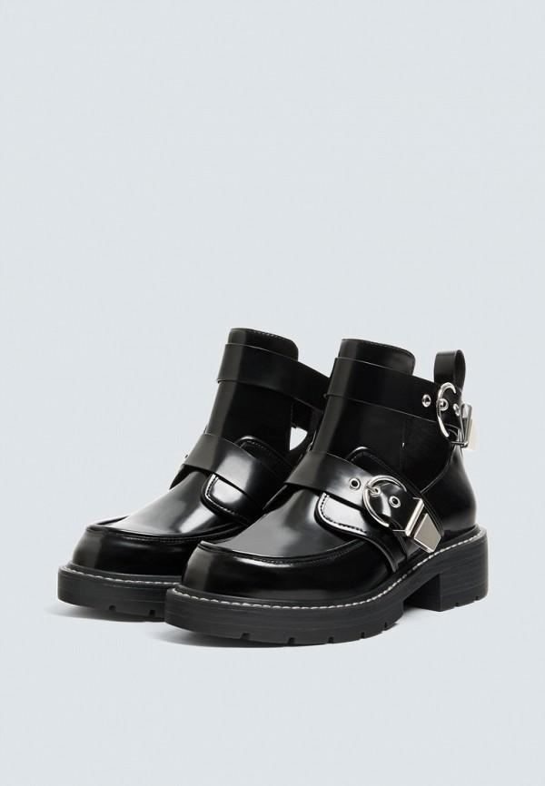 Купить Ботинки Pull&Bear, ix001xw0033j, черный, Осень-зима 2018/2019
