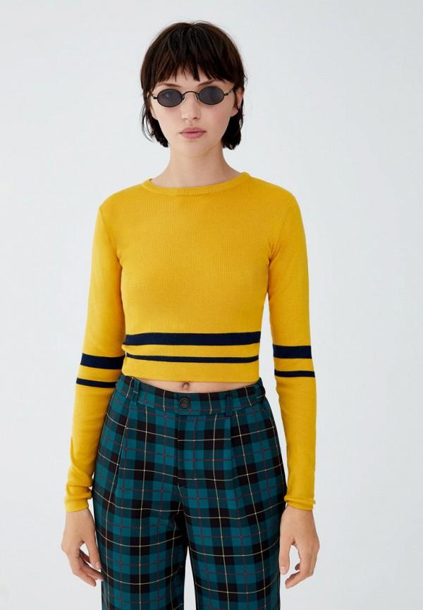Топ  желтый цвета