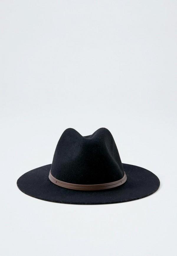 женская шляпа pull&bear, черная