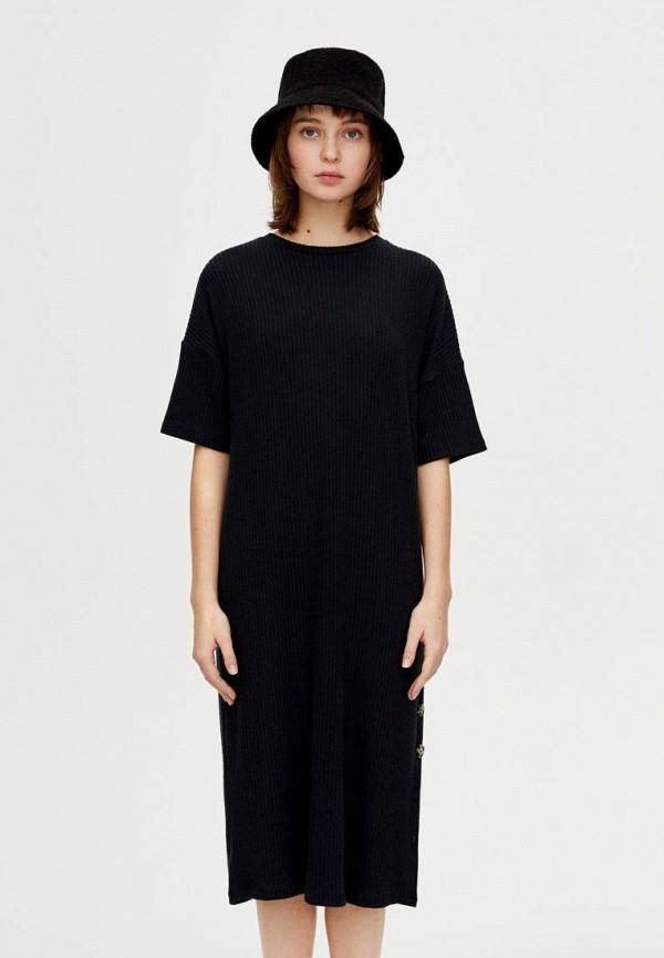 Купить Платье Pull&Bear, ix001xw003jf, черный, Осень-зима 2018/2019