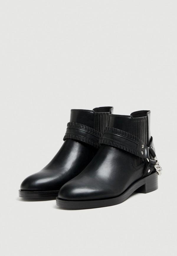 Купить Ботинки Pull&Bear, ix001xw003k5, черный, Осень-зима 2018/2019