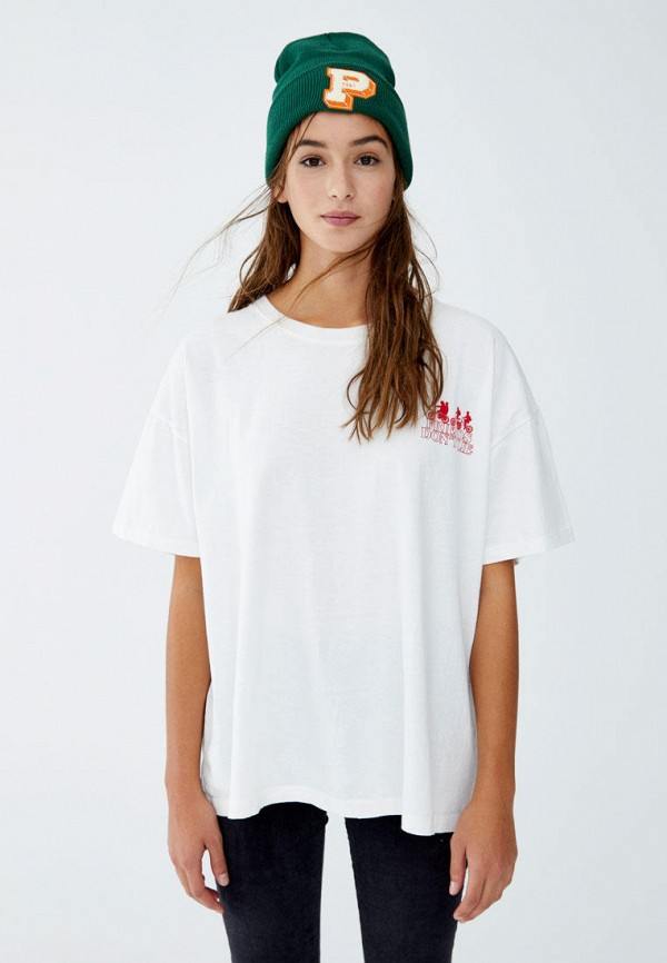 Футболка Pull&Bear Pull&Bear IX001XW003VN удочка зимняя swd ice bear 60 см