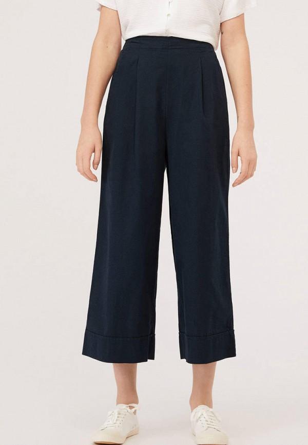 женские повседневные брюки oysho, синие