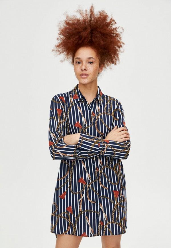 Платья-рубашки Pull&Bear