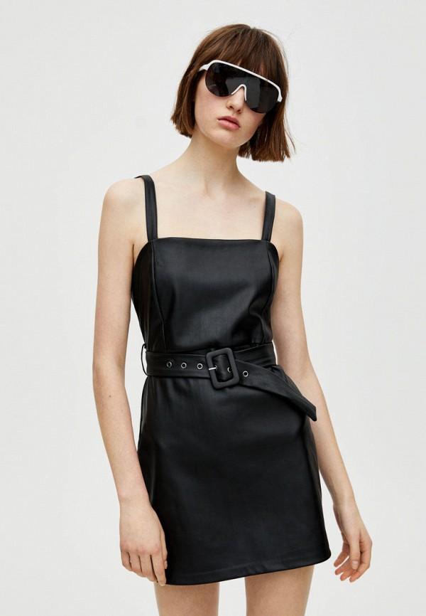 Кожаные платья Pull&Bear