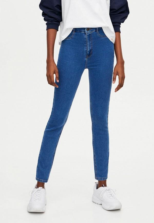 женские джинсы pull&bear, синие