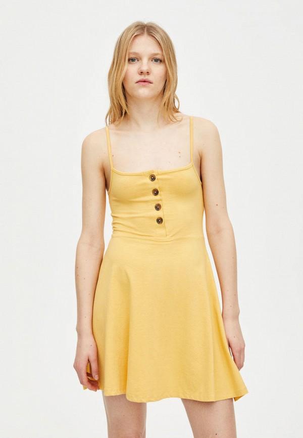 Платье Pull&Bear Pull&Bear IX001XW005VD недорго, оригинальная цена