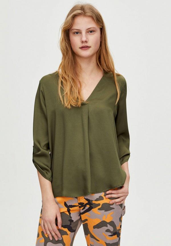 Блуза Pull&Bear Pull&Bear IX001XW005XI блуза marimay marimay mp002xw1ac12