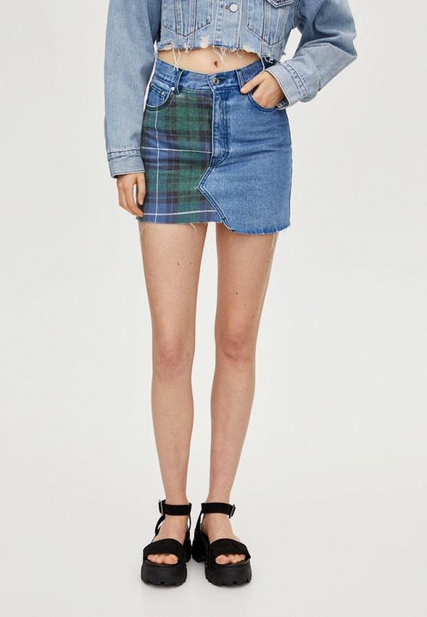 Джинсовые юбки Pull&Bear