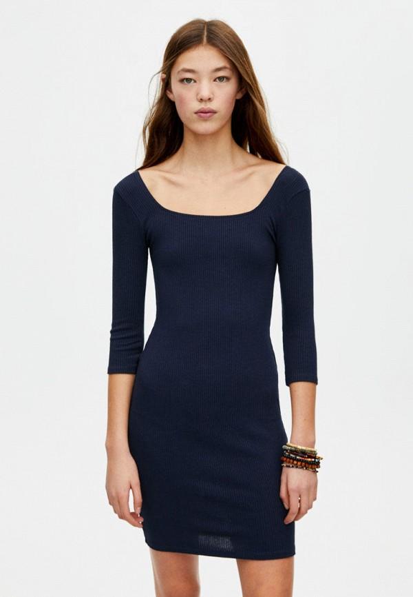 Платье Pull&Bear Pull&Bear IX001XW006ZC платье goldrai goldrai go030ewdjoq9