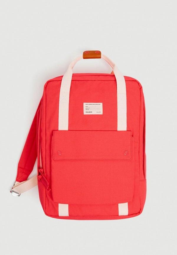 Рюкзак Pull&Bear Pull&Bear IX001XW006ZV рюкзак pull