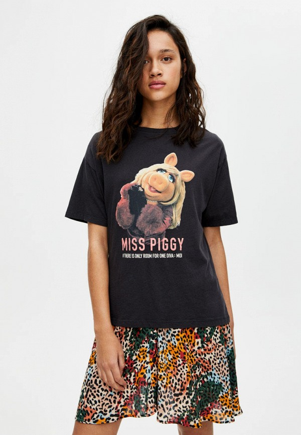 Футболка Pull&Bear Pull&Bear IX001XW00749 удочка зимняя swd ice bear 60 см