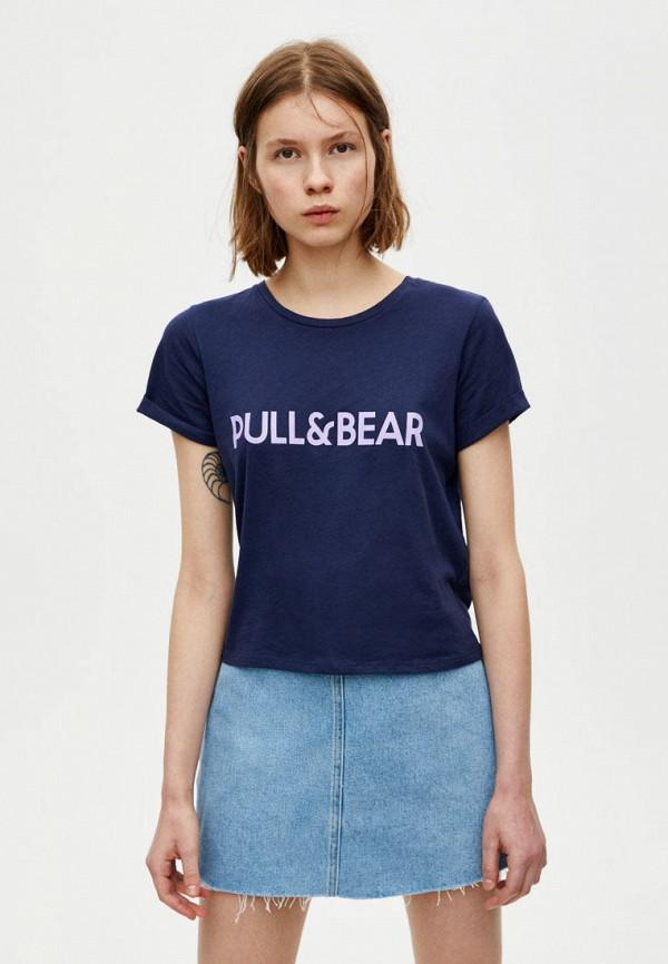 Футболка Pull&Bear Pull&Bear IX001XW007DT футболка pull
