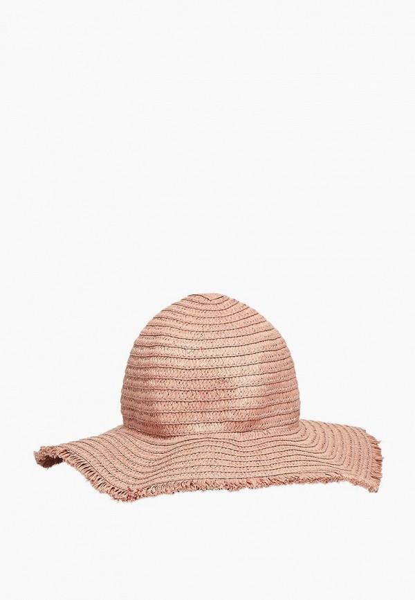 женская шляпа stradivarius, розовая