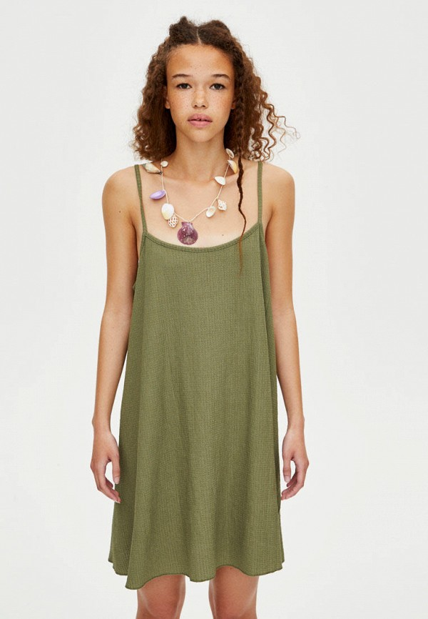 Фото - Платье Pull&Bear Pull&Bear IX001XW0094Q удочка зимняя swd ice bear 60 см