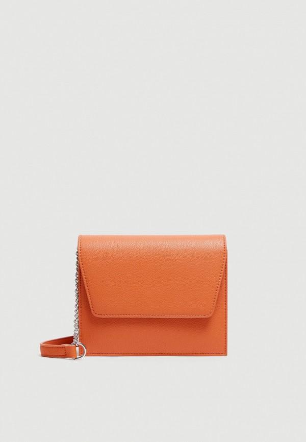 Фото - Сумку Pull&Bear оранжевого цвета
