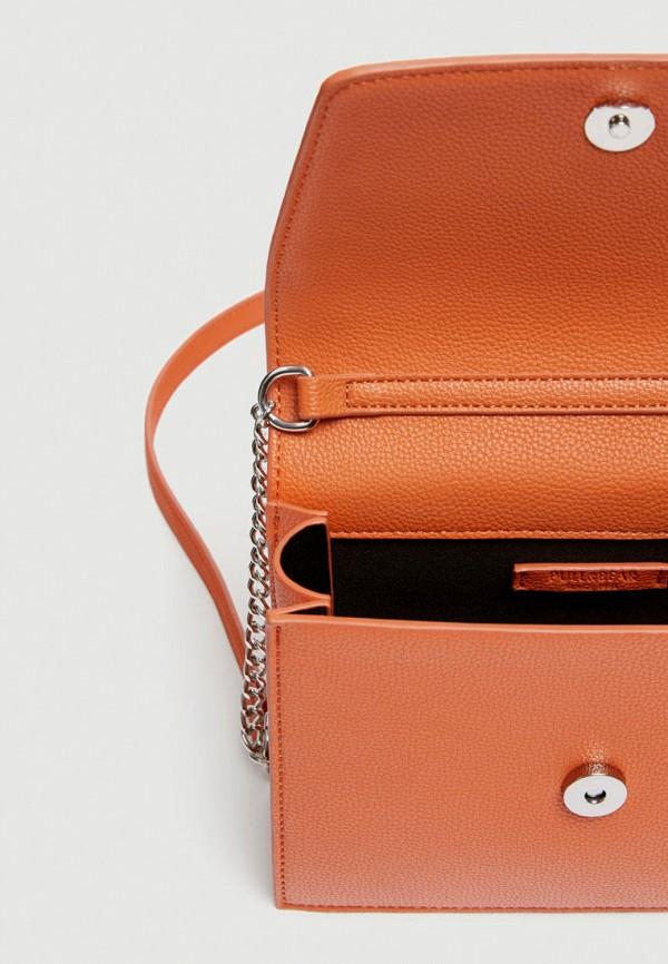 Фото 3 - Сумку Pull&Bear оранжевого цвета
