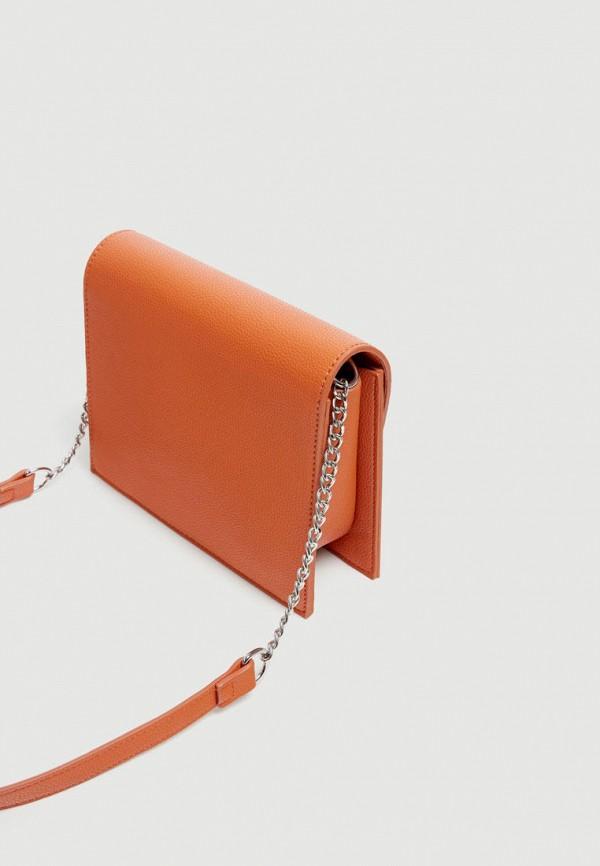 Фото 5 - Сумку Pull&Bear оранжевого цвета