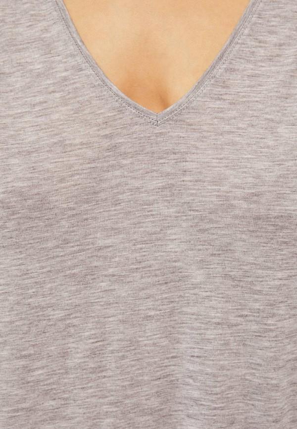Фото 4 - Платье домашнее Oysho серого цвета
