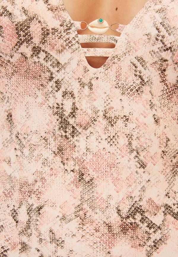Фото 5 - Купальник Oysho розового цвета
