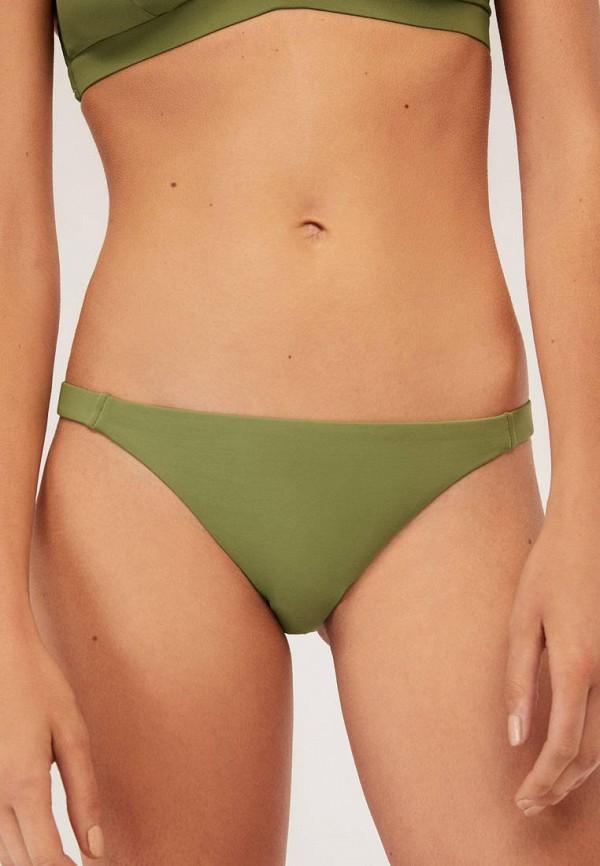 женские плавки oysho, зеленые