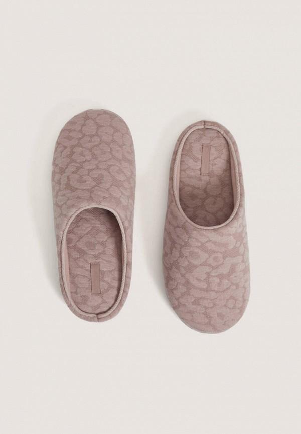 Фото - Тапочки Oysho розового цвета