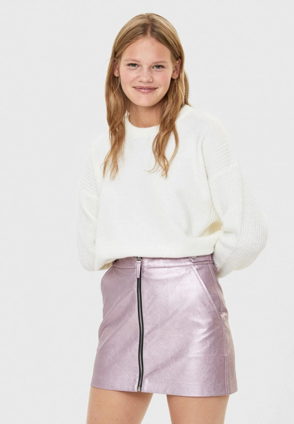 женская юбка bershka, розовая