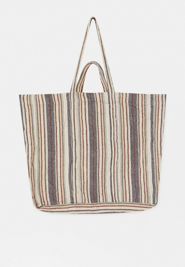женская сумка-шоперы pull & bear, разноцветная